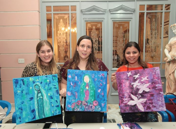 Paint & wine en El Pinar